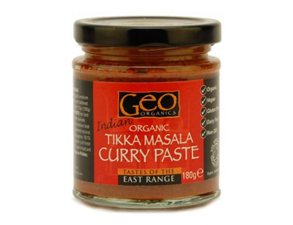Geo Organics Organic Tikka Curry Paste 180g