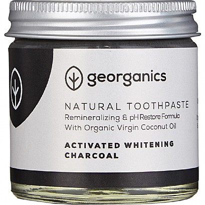Geo Organics Natural Toothpaste Activated Charcoal 60ml