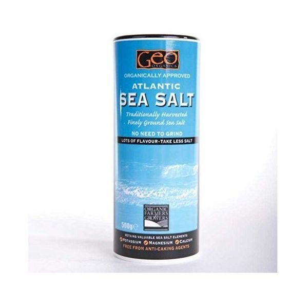 Geo Organics Atlantic Sea Salt Shaker 500g