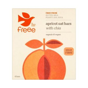 Doves Farm Organic Free From Apricot & Chia Seed Flapjack 35g x 18