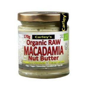 Carley's Organic Raw Macadamianut Butter