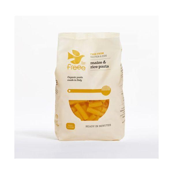 Doves Farm Organic Gluten Free Maize & Rice Tortiglioni 500g