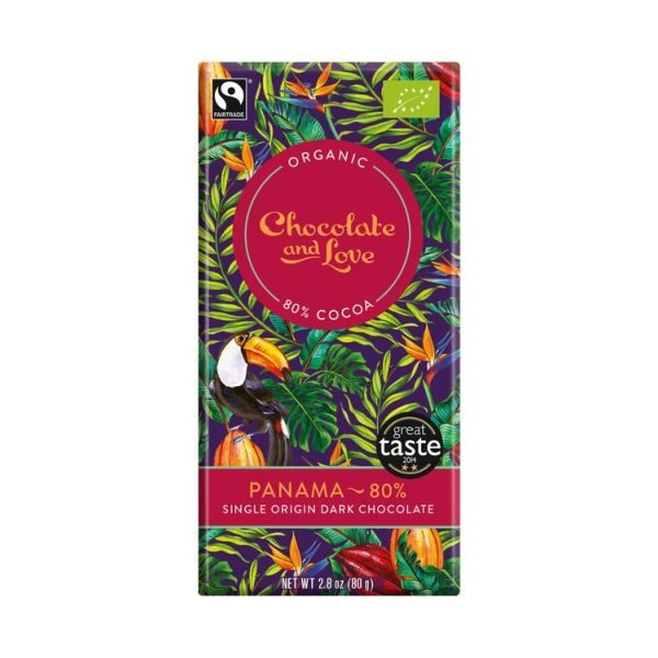 Chocolate And Love Panama 80%