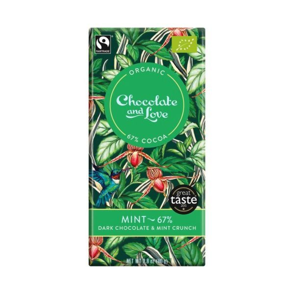 Chocolate And Love Mint 67%