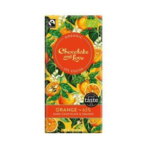 Chocolate And Love Orange 65%