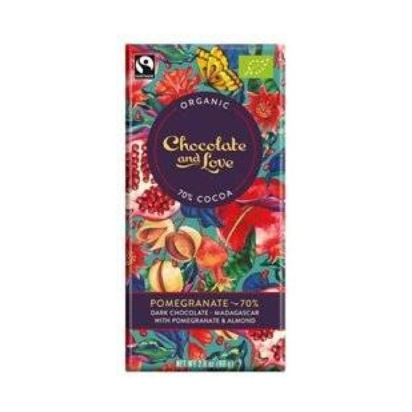 Chocolate And Love Pomegranage 70%