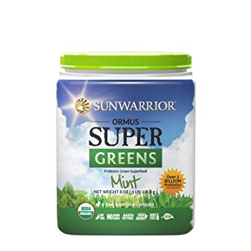 Sunwarrior Ormus Supergreens Peppermint