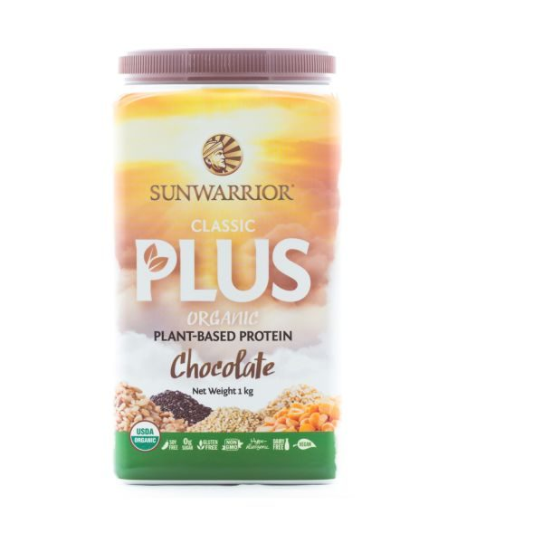 Sunwarrior Classic Plus Chocolate