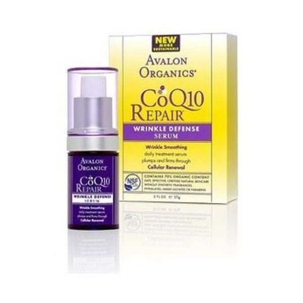 Avalon Organic CoQ10 Wrinkle Defense Serum