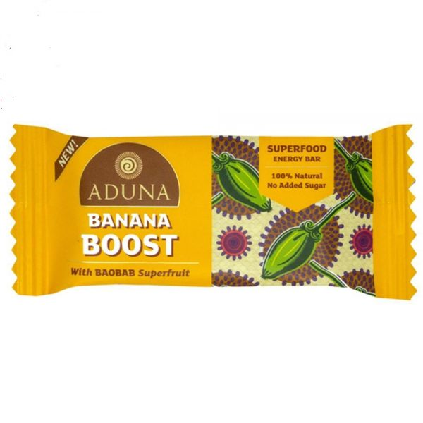 Aduna Banana Boost With Baobab Superfood Energy Bar
