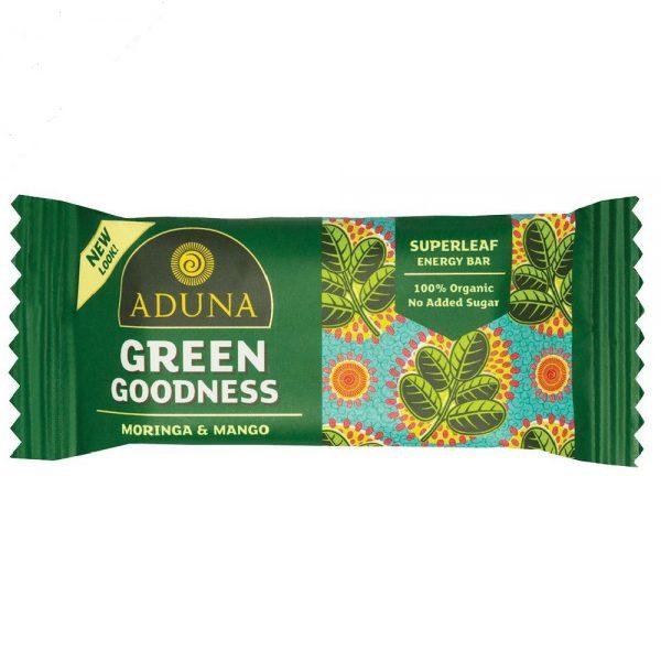 Aduna Green Goodness With Moringa Superfood Energy Bar