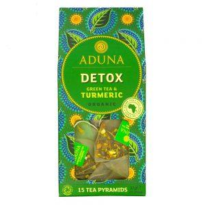 Aduna Organic Detox Green Tea & Turmeric