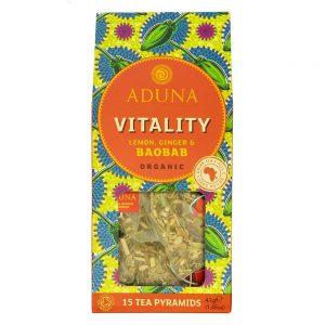 Aduna Organic Vitality Tea With Baobab, Lemon & Ginger