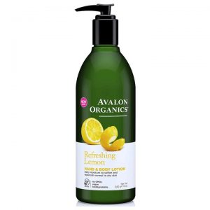 Avalon Organics Refreshing Lemon Hand & Body Lotion