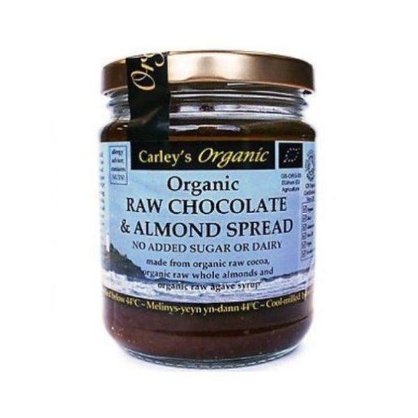 Carley's Organic Raw Chocolate & Almond Spread