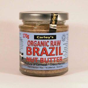 Carley's Organic Raw Brazilnut Butter