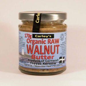 Carley's Organic Raw Walnut Butter