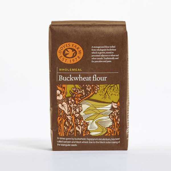 Doves Farm Wholegrain Buckwheat Flour 1kg x 5