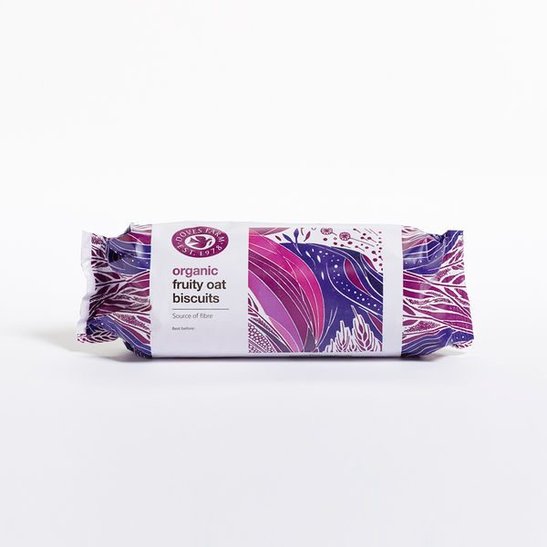 Doves Farm Organic Fruity Oat Digestives 200g