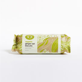 Doves Farm Organic Ginger Oat Biscuit 200g