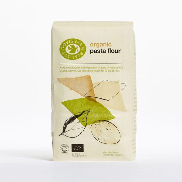 Doves Farm Organic Pasta Pizza Flour 1kg x 5
