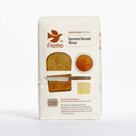 Doves Farm Gluten Free Brown Bread Flour 1kg x 5