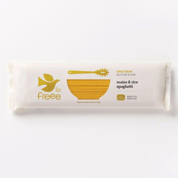 Doves Farm Organic Gluten Free Maize & Rice Spaghetti 500g
