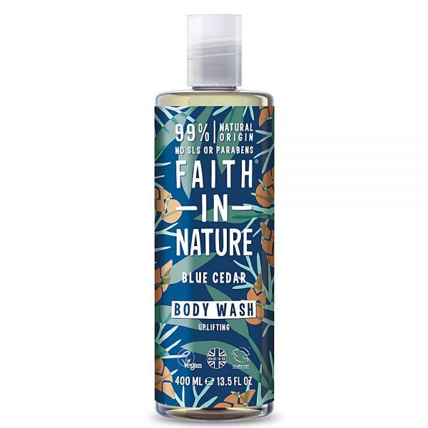 Faith In Nature Blue Cedar Body Wash