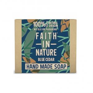 Faith In Nature Blue Cedar Soap