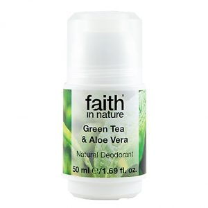 Faith In Nature Roll-On Deodorant Aloe Vera & Green Tea