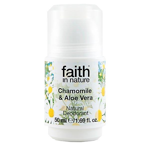 Faith In Nature Roll-On Deodorant Chamomile & Aloe Vera
