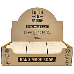 Box of 18 Unwrapped Natural Hand Made Hemp Soaps