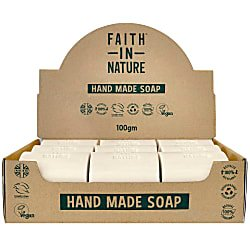 Faith in Nature Box of 18 Unwrapped Soaps