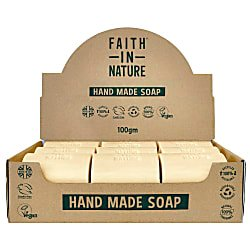 Box of 18 Unwrapped Natural Hand Made Fragrance Free Soaps