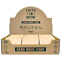 Box of 18 Unwrapped Natural Hand Made Orange Soaps