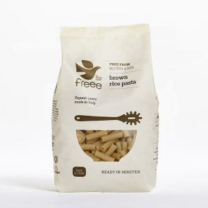 Doves Farm Organic Gluten Free Brown Rice Tortiglioni 500g