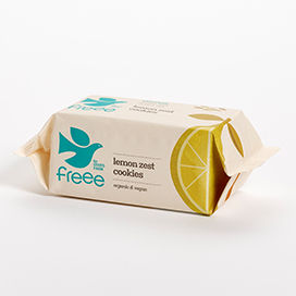 Doves Farm Organic Lemon Cookie Wheat/Gluten Free 150g