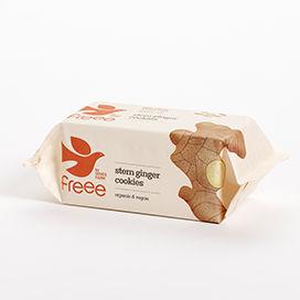 Doves Farm Organic Stem Ginger Cookies 150g