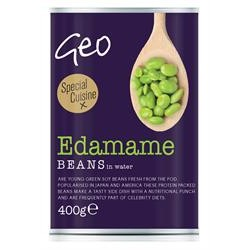 Geo Organics Edamame Beans 400g