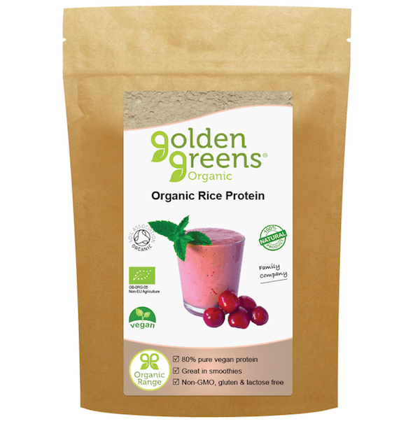 Greens Organic Brown Rice Protein Powder