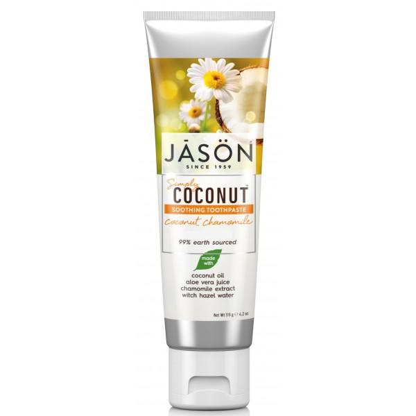 Jason Coconut Chamomile Toothpaste