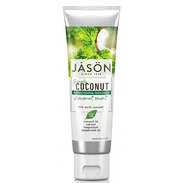 Jason Coconut Mint Strengthening Toothpaste