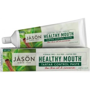 Jason Healthy Mout Tartar Control Toothpaste - Tea Tree & Cinnamon