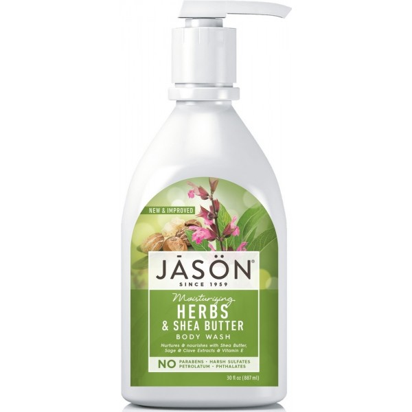 Jason Herbs & Shea Butter Body Wash