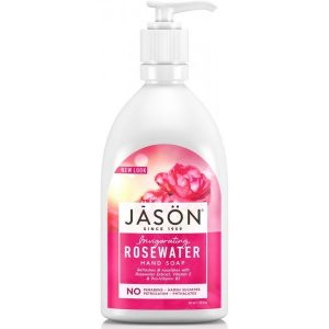 Jason Invigorating Rosewater Hand Soap