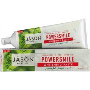 Jason Powersmile® Whitening Toothpaste - Peppermint (Fluoride Free)