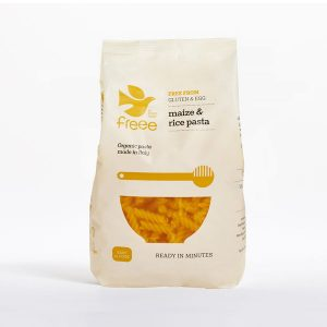 Doves Farm Organic Gluten Free Maize & Rice Fusilli Pasta 500g