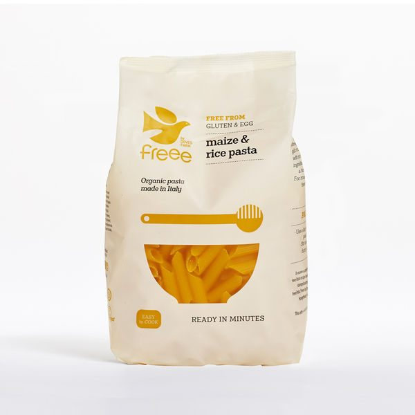 Doves Farm Organic Gluten Free Maize & Rice Penne Pasta 500g
