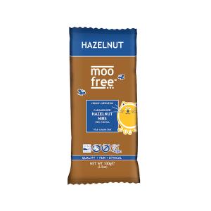 Moo Free Classic Bar Hazelnut Nibs