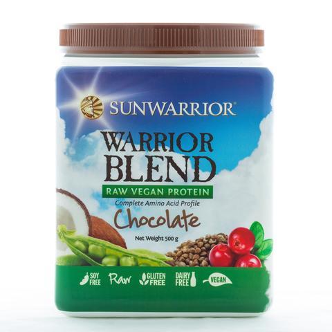 Sunwarrior Blend Chocolate Protein Powder
